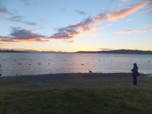 After a week in Auckland we headed south to Lake Taupo