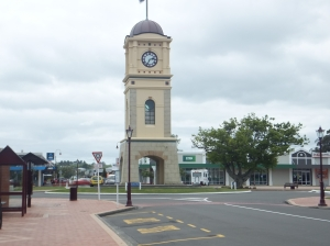 and then vie Fielding, where Katharine's family once lived (she was born nearby in Palmerston North