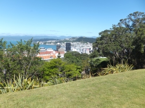 and finally arriving in Wellington for a couple of days looking at the botanical gardens, Te Papa and taking the excellent guided tour of the NZ Parliament, and seeing more friends.