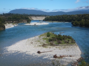The Waiau River by the Kepler Track