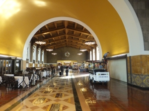The entrance hall of Grand Union Station