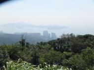 Looking down from Victoria Peak