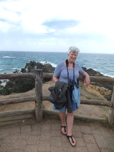 At the easternmost point of mainland Australia