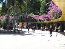 The river promenade